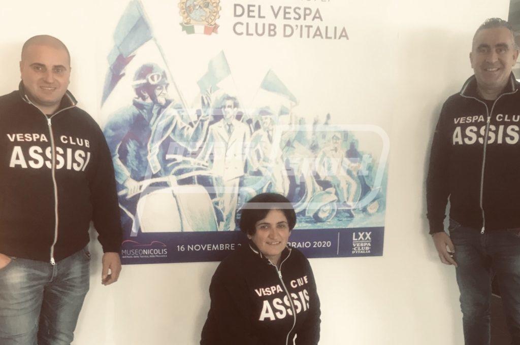 Il Vespa Club Assisi al Museo Nicolis per la chiusura dei festeggiamenti dei 70 anni del Vespa Club d'Italia - AssisiSport